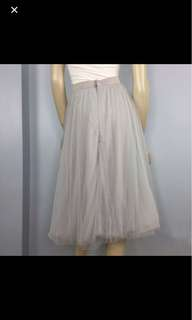 Gray TuTu Skirt
