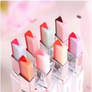 Two color lip bar lipstick
