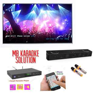 Non-streaming home karaoke system 3TB Harddisk(Free monthly update 2 years warranty )