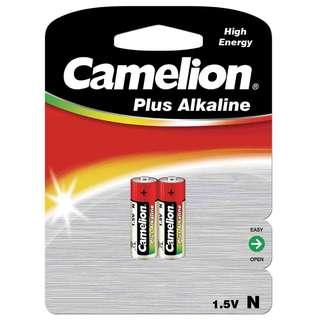 德國名廠 Camelion Plus Alkaline Battery 1.5V 鹼性 電池 (LR1, N, LADY, MN9100, E90) - 原裝行貨