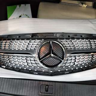 Mercedes Eclass W212 Diamond grill for 2014-2016 sport model