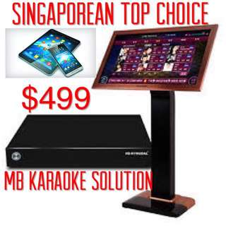 karaoke jukebox ( free monthly update 2 years warranty)