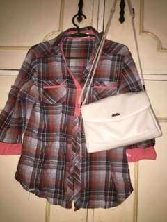 Polo shirt checkered