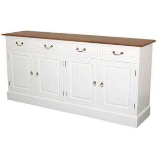 Teak Sideboard 4 Drawers 4 Doors Warehouse Sale