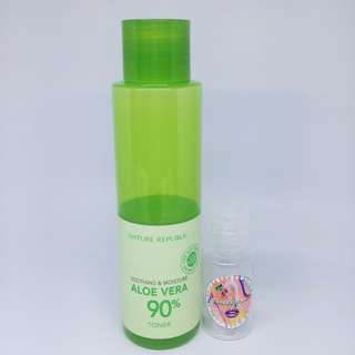 TONER ALOE VERA - Share in Bottle