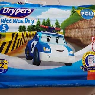 Robocar Poli Drypers 'S' size