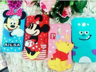 3D cute disney case