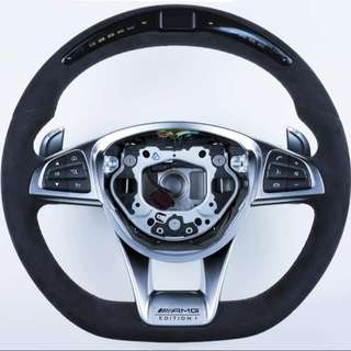 Mercedes benz LED Performance steering wheel