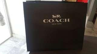 AUTHENTIC Coach paper bag