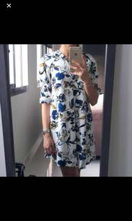 Mango floral white dress FREE WITH PURCHASE