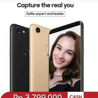 Handphone Oppo F5 4GB Cash Back 200ribu