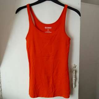 Old navy orange tank top