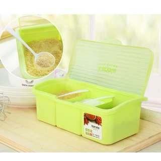72208 Removable 3 in 1 Seasoning Box