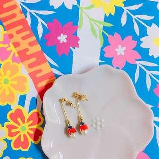 🚚 GOOFY.S「 一起去賞花吧 」耳環 🌸🌸