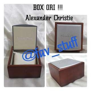 BOX ORI !!! ALEXANDER CHRISTIE