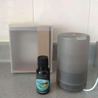 (40% Offer!)  70ml Essential Oil LED Aroma Diffuser