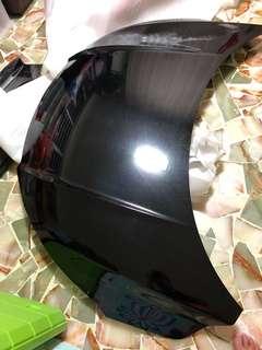 Vezel black car Bonet
