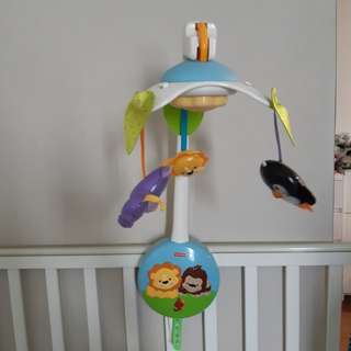 Fisher Price Musical Mobile & Play Gym