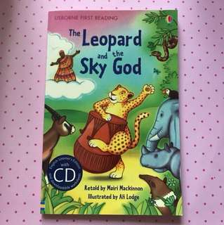The Leopard and Sky God Usborne First Reading