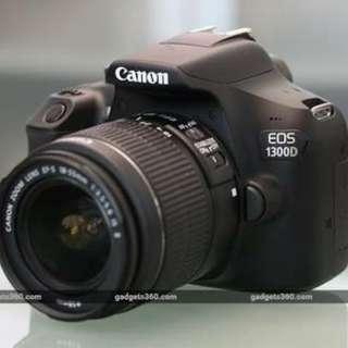 Cicilan canon 1300D tanpa kartu kredit