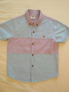 [PL] Carter's 6T Blue and Purple Shirt