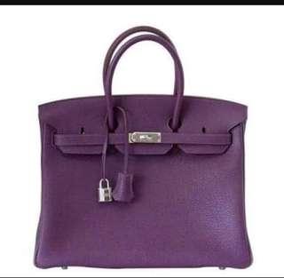 Pre loved hermes bag