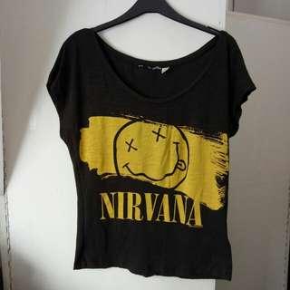 H&M nirvana shirt