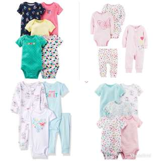 Newborn Baby Girl Items Readystock