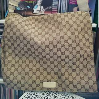 Gucci Monogram Messenger Bag