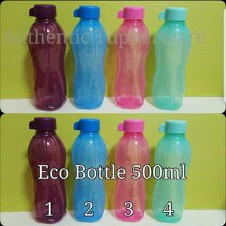 Authentic Tupperware  Eco Bottle 500ml 《Retail Price S$8.50/Pc》 mint sold out