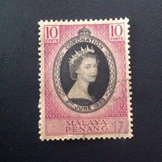 Penang 1953 Penang Coronation of QEII (0267)