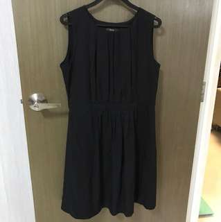 BLACK IORA DRESS