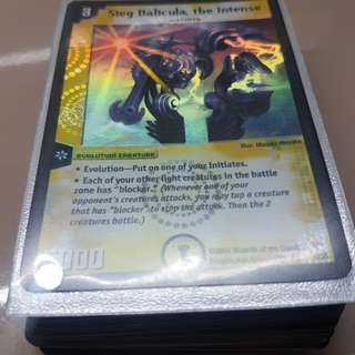 Duel Masters Cards Bulk Deck Lot 2 (More Rares Included!)