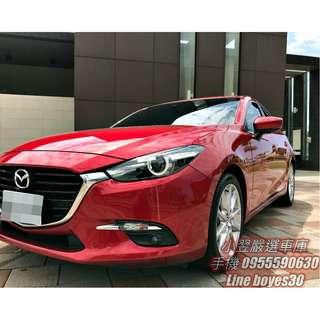 《2017 Mazda 3 5D 2.0尊榮安全版》