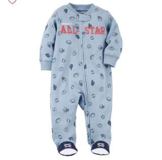 *Newborn* Brand New Carter's Sleep And Play For Baby Boy