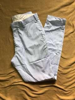 Uniqlo Skinny Light Blue Trousers