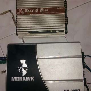 Power Amp & Speaker box