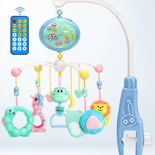 Baby Cot / Bed Wind-up Musical Bell (Remote Control)