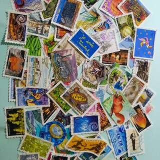 法國郵票80個,包郵