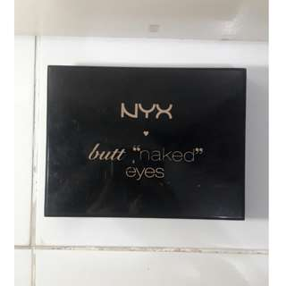 NYX Butt Naked Eyes Makeup Palette