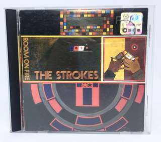 CD The Strokes Room On Fire