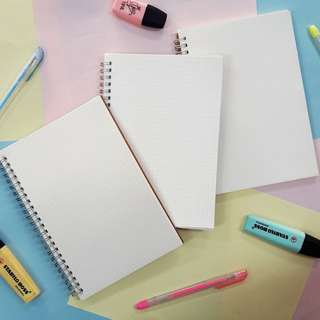 Personalized Calligraphy Kraft (Craft) Notebooks (100php-150 php)