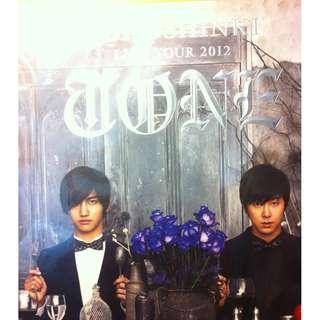 Tohoshinki 東方神起 Live Tour 2012 TONE 寫真