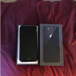 Selling my iphone 8 64GB unlocked never used before still has everything in box. Serious buyers only