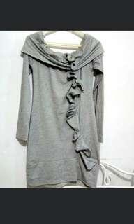 Gray dress from Italy