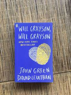 Preloved Will Grayson, Will Grayson by John Green