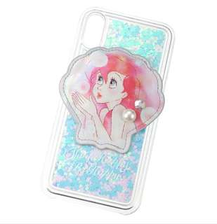 🇯🇵日本代購 迪士尼 Disney 美人魚 小魚仙 Ariel IphoneX Case 手機殻 Iphone 殻