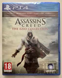 BD Kaset Game PS4 Assassin's Creed The Ezio Collection NEW