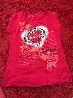 Authentic guess t shirt