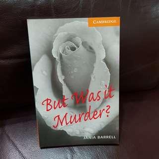 英文書 But was it murder?
